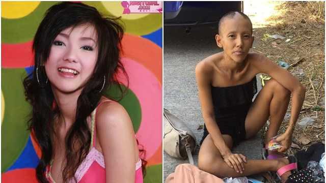 泰國昔日女星街頭乞討,稱還想復出
