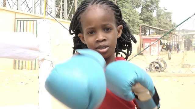 尼日利亚7岁拳击女孩:爸爸支持我
