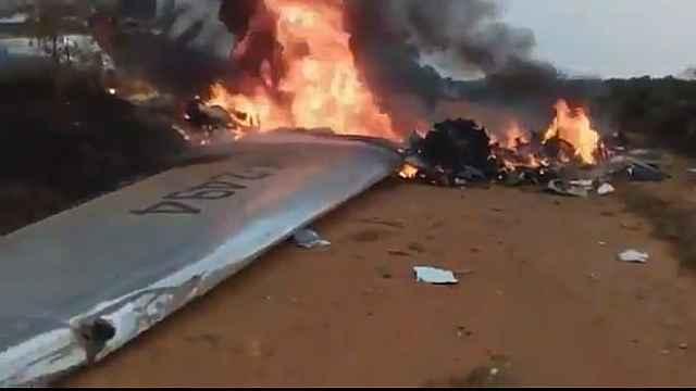 委内瑞拉飞机坠毁,机上14人遇难