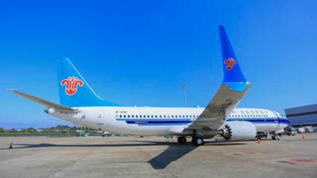 南航737-8机型执飞:可能来不及换