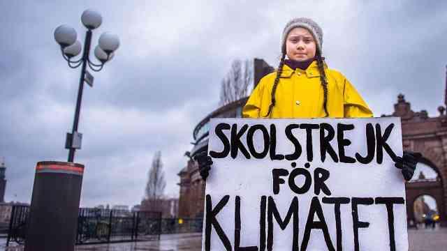为气候变化罢课,16岁少女提名诺奖
