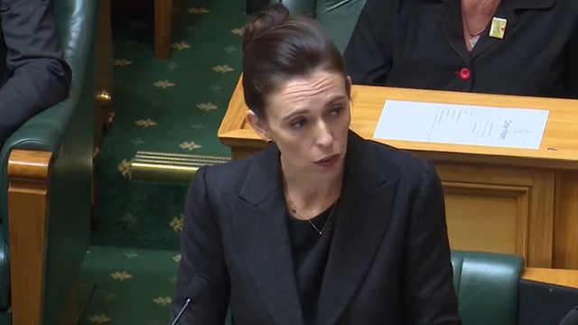 新西兰总理拒绝说出恐袭嫌犯的姓名