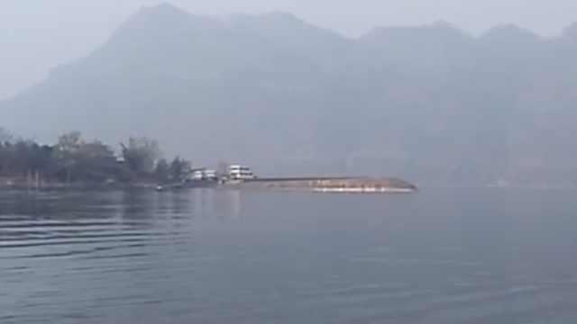 一货船金沙江倾覆:3人获救3人失踪