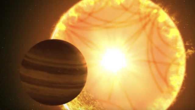 NASA苔丝号发现土星大小系外行星