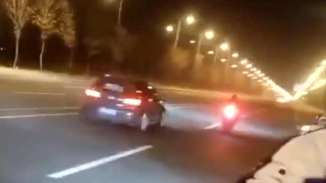 摩托与轿车互飙致1死1伤,4人被刑拘