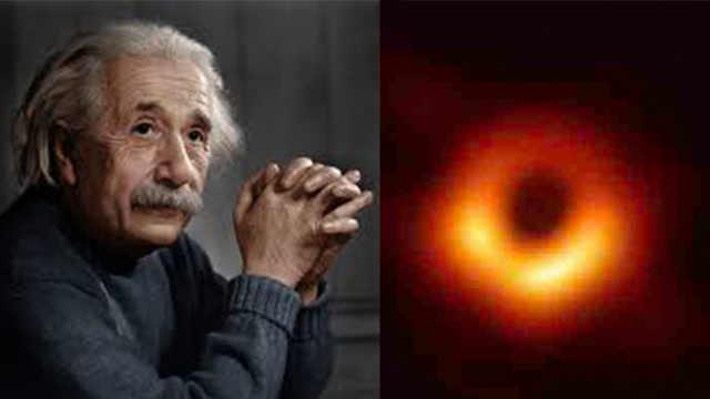 爱因斯坦百年前的黑洞预言得到证实