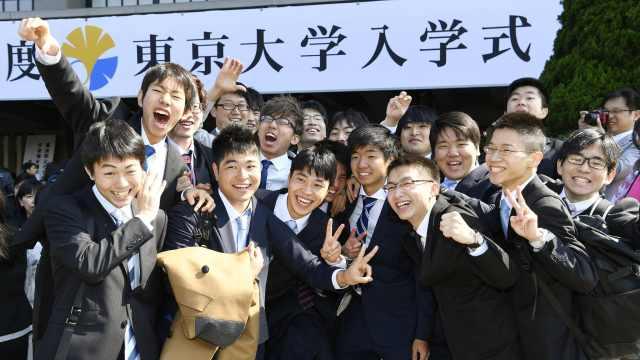 东京大学新生入学,女生不到两成