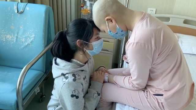 """姐姐患白血病,妹妹想""""拿命救姐"""""""