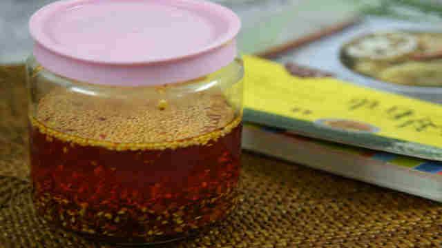 红红火火,香辣的红油做法很简单
