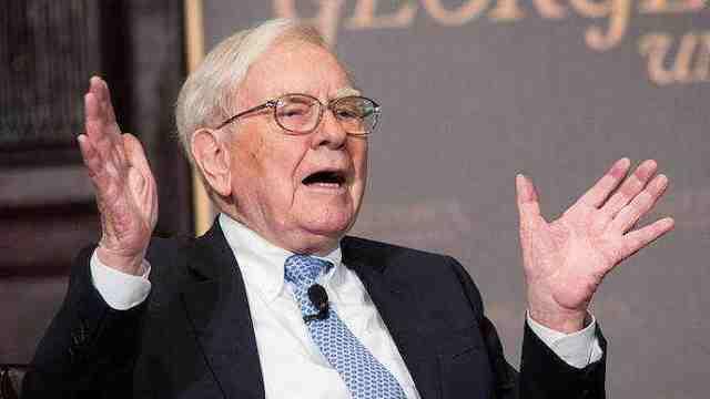 巴菲特:我从不依据经济做投资决定