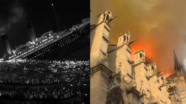 泰坦尼克号沉没也发生在4月15日