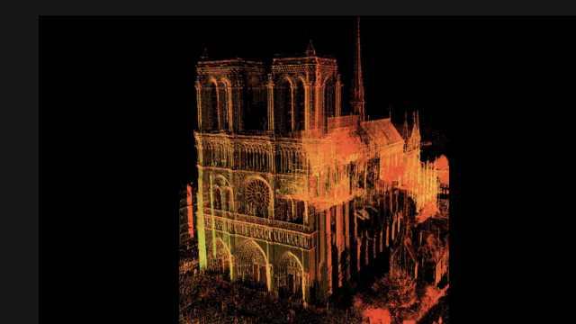 巴黎圣母院重建关键:2015年3D存档