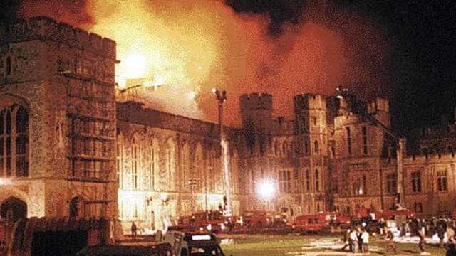 温莎城堡火灾后女王是怎么筹款的