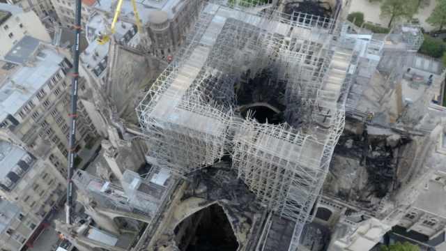 法国将办国际建筑大赛重建圣母院
