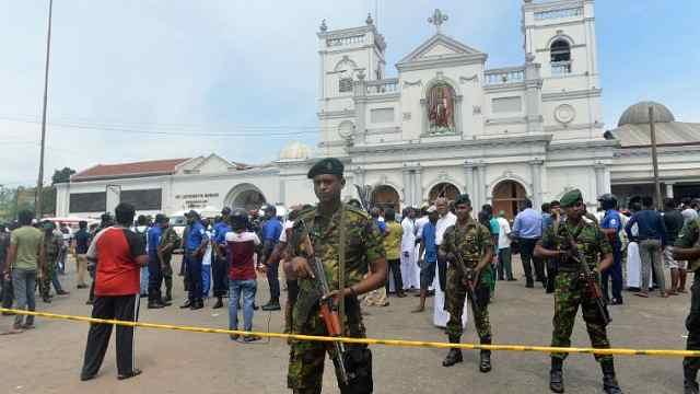 直播:斯里兰卡爆炸207亡,2中国人