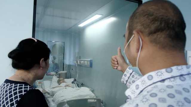 22岁少年突患癌,爸爸为其移植骨髓