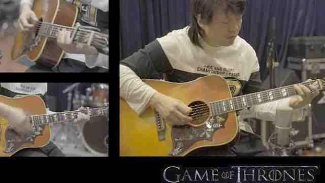 【木吉他版】《权力的游戏》主题曲