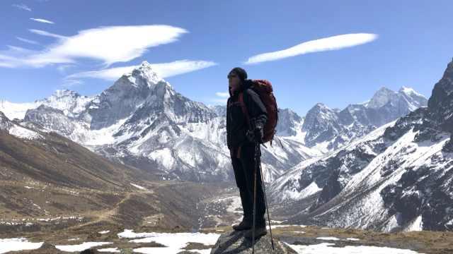 为了1句话准备3年,他珠峰徒步15天