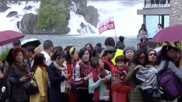 万人中国旅游团涌入瑞士,引发争议