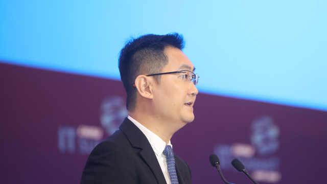 马化腾英语谈财报:微信月活破11亿