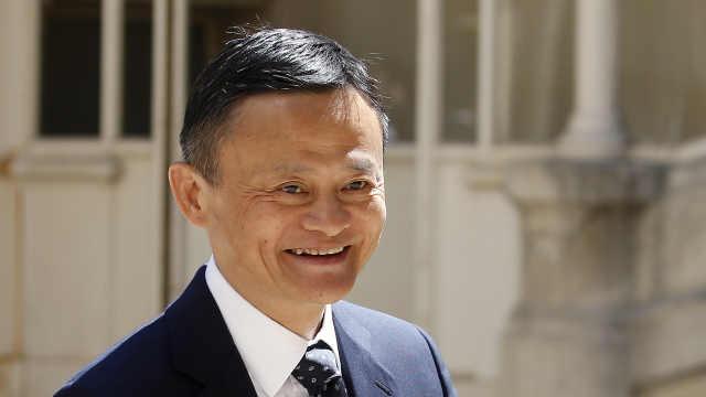 马云:中国人成功源于努力爱学习