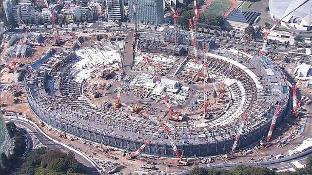 日本奥运会场馆施工地被曝存在危险