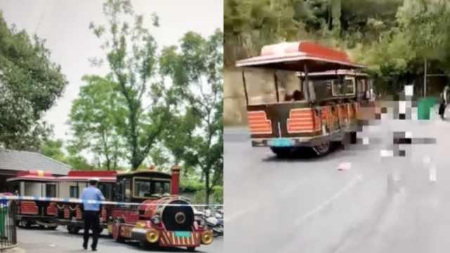 景区小火车侧翻,1导游死亡15人伤