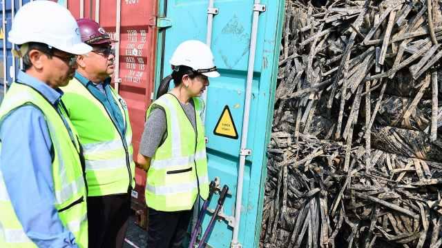 怒了!马来西亚将洋垃圾送回源头国