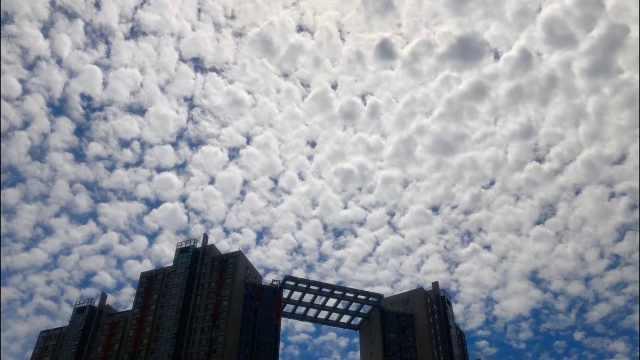 北京现鱼鳞云,专家:与高温天气有关
