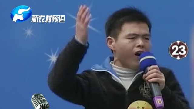"""""""河南歌王""""唱歌,所有人都安静了"""