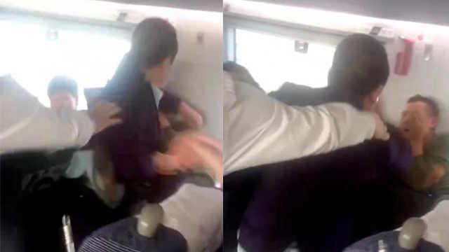 男子高铁耍酒疯,霸座还殴打乘客
