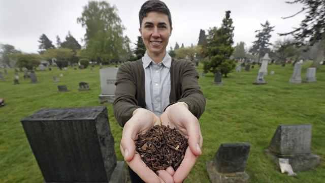 死后变肥料,人体堆肥法将在美实施