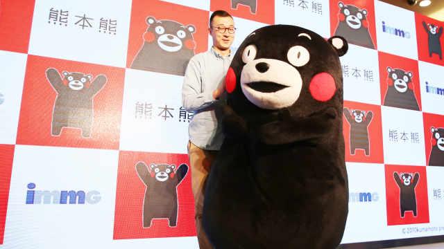 熊本熊无缘火炬手,官方:年龄太小