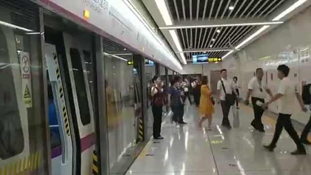 南宁地铁3号线提前对外开放!