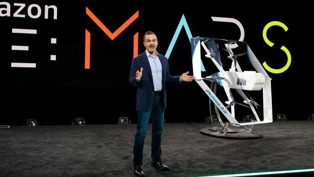 亚马逊推出新款送货无人机