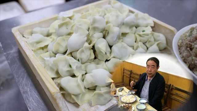 下岗工开饺子店26年,贾平凹来打卡