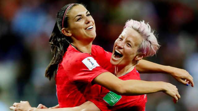 创世界杯纪录!美国女足13-0胜泰国