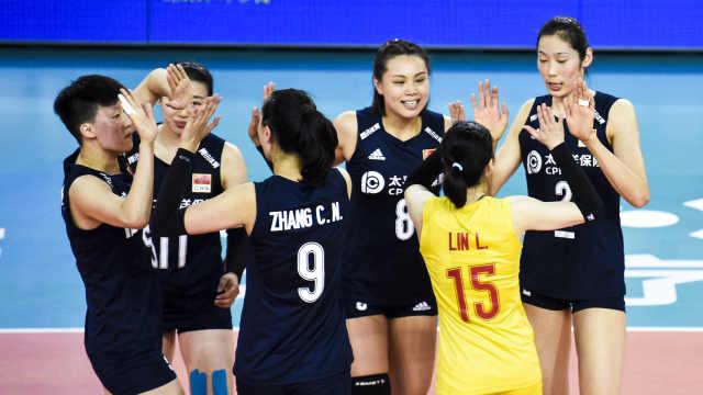 遗憾!中国女排九连胜被终结仍夺冠