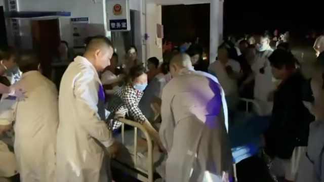 直击宜宾震中医院:已收10余名伤者