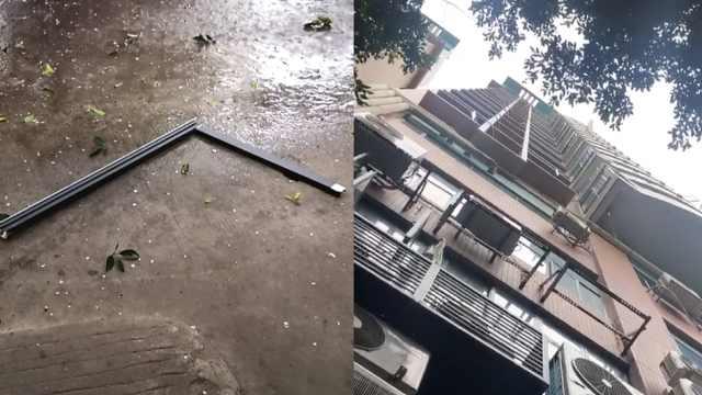 又一起!广州一小区18楼玻璃窗坠落
