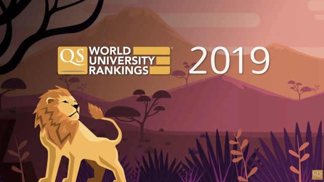 最新世界大学排名发布:清华升至16