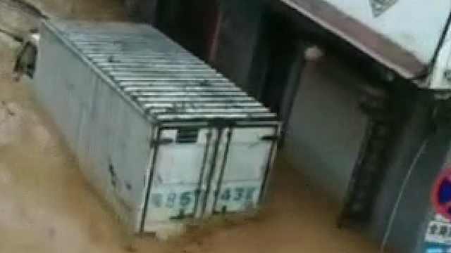 梧州告急!梧州苍梧县遭受暴雨袭击