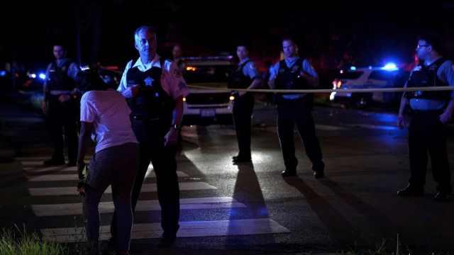 芝加哥最暴力周末,2天50多起枪击