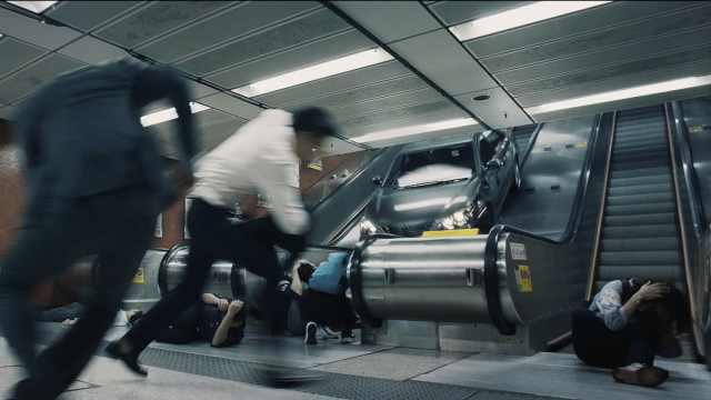 燃!港铁飙车枪战戏原来是这样拍的