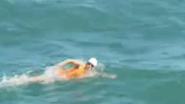 接力畅游19小时,5女横渡英吉利海峡