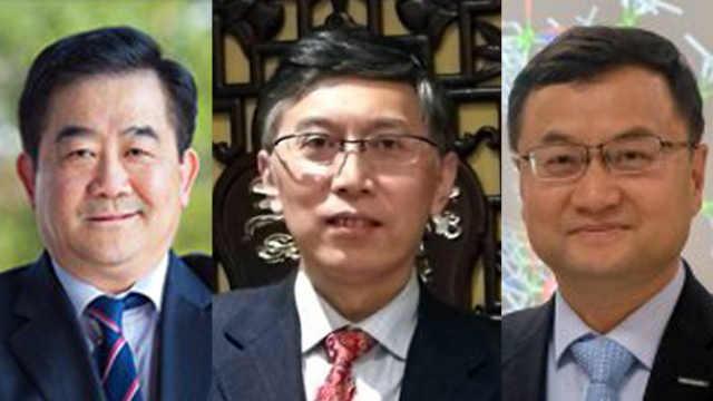 三名中国科学家当选欧洲科学院院士