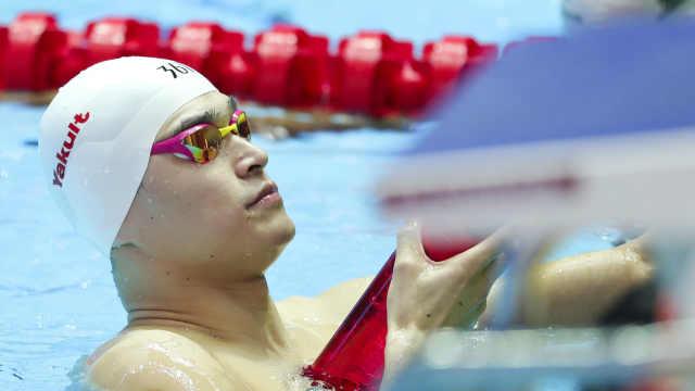 外媒预测孙杨世锦赛战绩:400自夺冠
