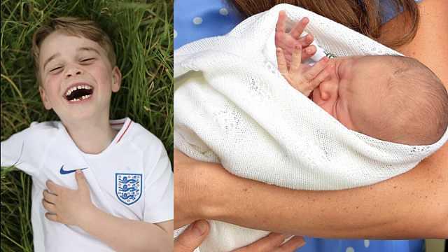英国乔治王子6岁啦!盘点超萌瞬间