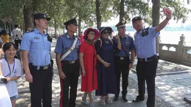 中意警方开展警务联合巡逻