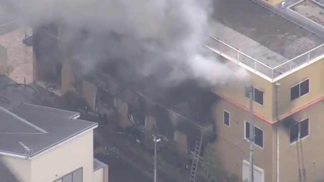 京都火灾35死,嫌犯家有京阿尼作品